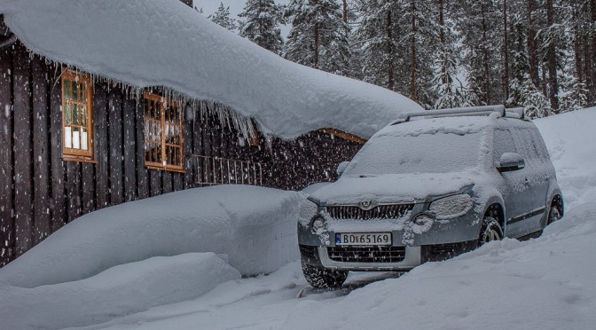 Vinter i Ljørdalen